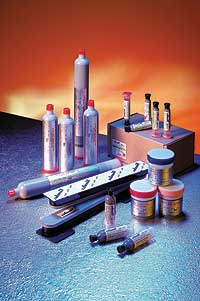 leaded solder pastes